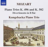 Mozart: Piano Trios K. 496 and K. 502; Divertimento in B flat by Kungsbacka Piano Trio (2008-11-18)