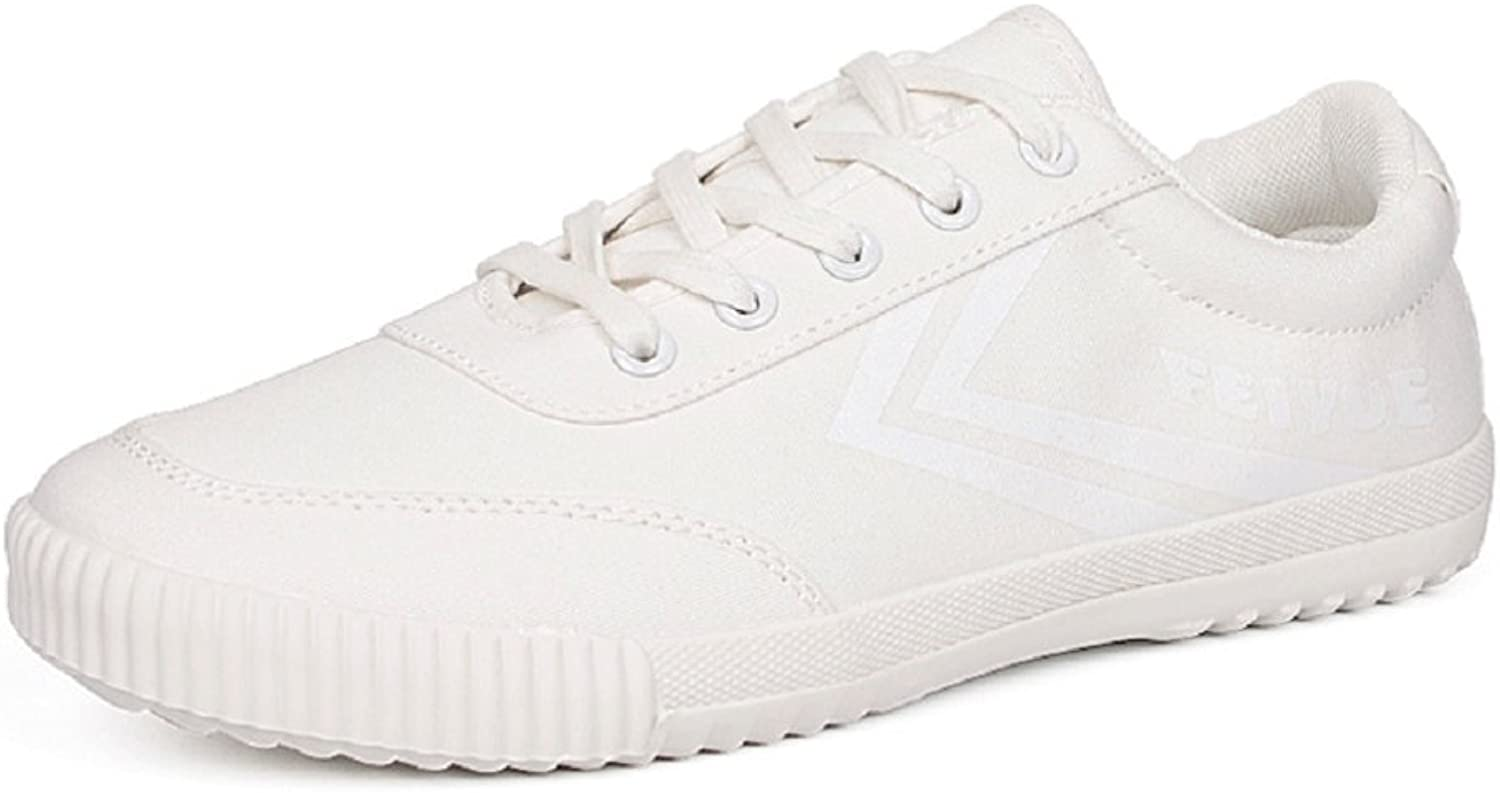 Three Four Huili Classic White Canvas shoes for Man Women