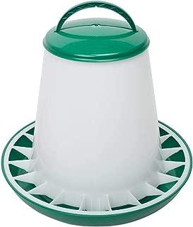 (イートン) ETON 家禽用 TSF フィーダー 給餌器 エサ入れ にわとり 養鶏 (6kg) (グリーン)