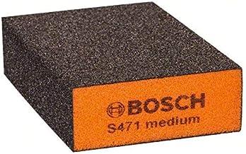 Bosch Professional 2608608225 Taco abrasivo para lijar a mano, Azul, Gris, Medio