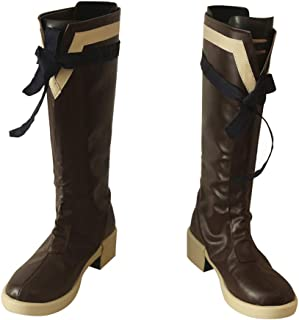 DUNHAO COS Anime Fire Emblem Lyn Halloween Cosplay Custom Made Shoes Boots