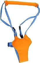 Baby Toddler Kid Harness Bouncer Jumper Learn to Moon Walk Walker Assistant (Orange)