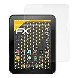 atFolix Panzerfolie kompatibel mit Palm HP TouchPad Schutzfolie, entspiegelnde & stoßdämpfende FX Folie (2X)