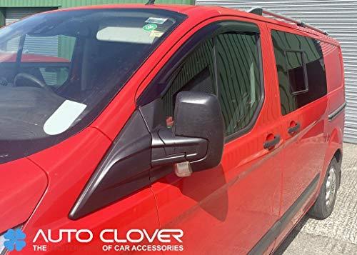 Autoclover Windabweiser-Set für Ford Transit Custom 2012+ (2 Stück)
