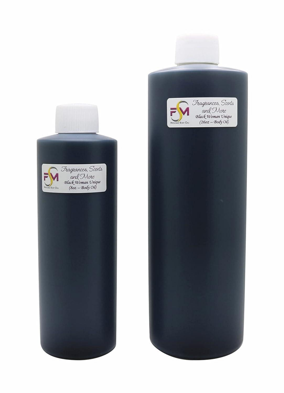 Black Woman Unique お買い得 Perfume 返品交換不可 Body Oil - Bot 7 Plastic Sizes 8oz