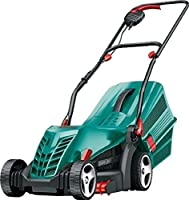 Bosch Rotak 34 R Electric Rotary Lawn Mower, 06008A6172_Green