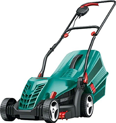 Bosch Rotak 34 Electric Lawn Mower with Roller