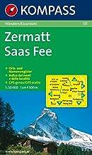 Carta escursionistica n. 117. Svizzera, Alpi occidentale. Zermatt, Saas Fee 1:50.000. Adatto a GPS. Digital map. DVD-ROM
