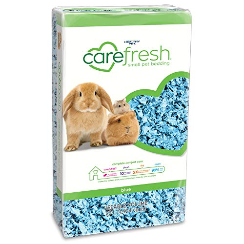 Carefresh 99% Dust-Free Blue Natural Paper Small Pet Bedding with Odor Control, 23 L