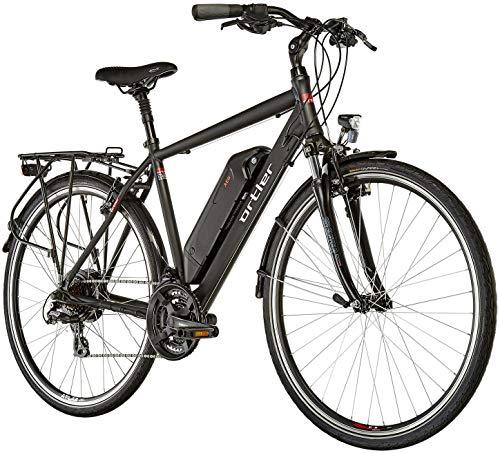 Ortler Lille matt schwarz 2019 E-Trekkingrad