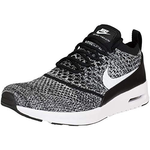 Nike Air Max Thea Ultra Flyknit Women Sneaker Trainer 881175-001 (38 EU, schwarz/weiß)