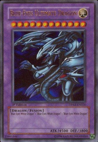 YU-GI-OH! - Blue-Eyes Ultimate Dragon (DPKB-EN026) - Duelist Pack: Kaiba - 1st Edition - Ultra Rare