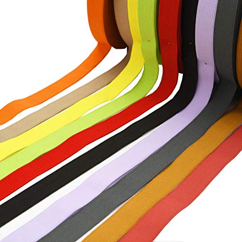GSHLLO 40m Elastic Cord Elastic Bands Sewing Bands Sewing Craft Accessories Multicolor