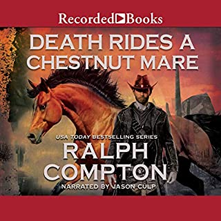 Death Rides a Chestnut Mare audiobook cover art
