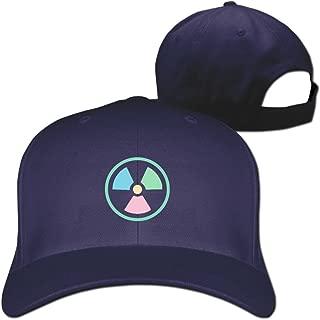 Pastels Radioactive Sign Designer Trucker Cap Peaked Hat Unisex Baseball Hats