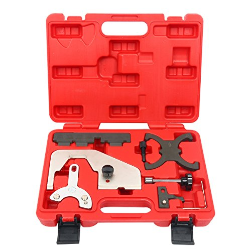 FreeTec Motor Steuerriemen Werkzeug Satz Kompatibel mit Ford 1.6l 2.0l T4 T5 Fiesta C-MAX Transit