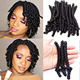 6 inch Pre-twisted Passion Twists Crochet Braids hair...