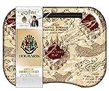 Harry Potter Kids Lap Desk Tablet Holder Marauder's Map with Hogwarts Notebook