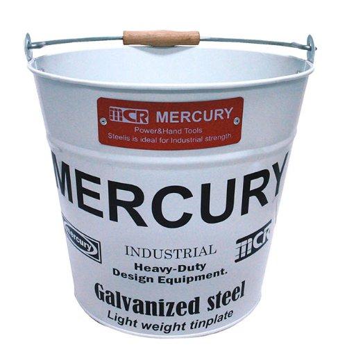 【MERCURY】バケツ Bucket ホワイト C118WH