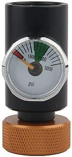LQKYWNA Medidor de CO2 Adaptador 0-3000PSI ASA Paintball Rellena Estación 21 * 4 Rosca Gas Cargador Clave de Cargo Conjunto para la Soda de la Cerveza Bebidas Carbonatadas