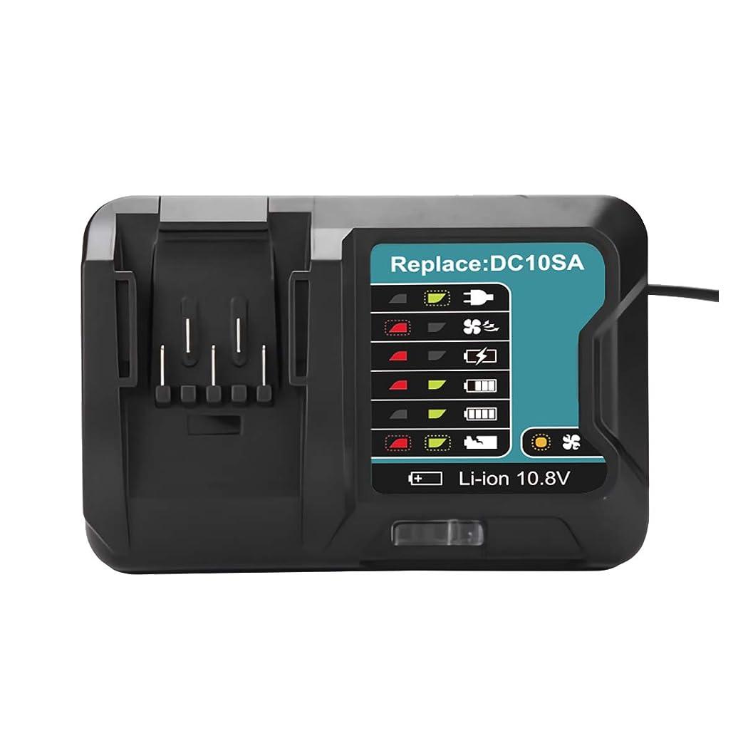 無知残りパドルGerit Batt dc10sa マキタ 充電器 DC0SA dc10sa 互換充電器 BL1015 バッテリー充電器 DC10SA 10.8V~12V 対応 BL1030 BL1050 BL1060 BL1016 BL1021B BL1041B DC10SB充電器 対応 1年品質保証