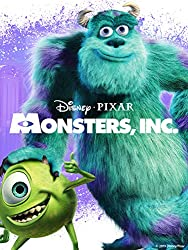 Disney Halloween Movies Monsters INC