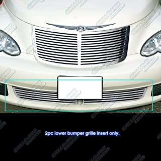 APS Compatible with 2006-2010 Chrysler PT Cruiser Bumper Perimeter Grille Grill Insert S18-A50969R