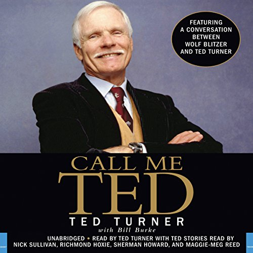 Call Me Ted audiobook cover art