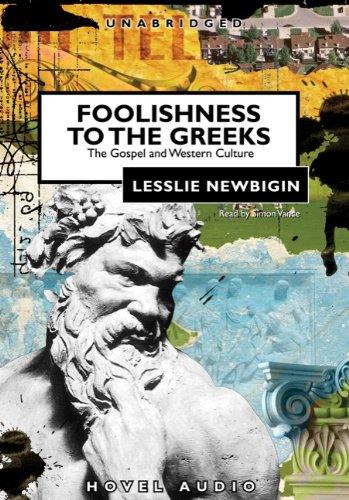 Foolishness to the Greeks copertina