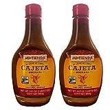 Mi Tienda Cajeta Quemada Sauce/Spread with Real Goat Milk, Squeezable Bottle (Quemada 2 Pack, 23.3oz)