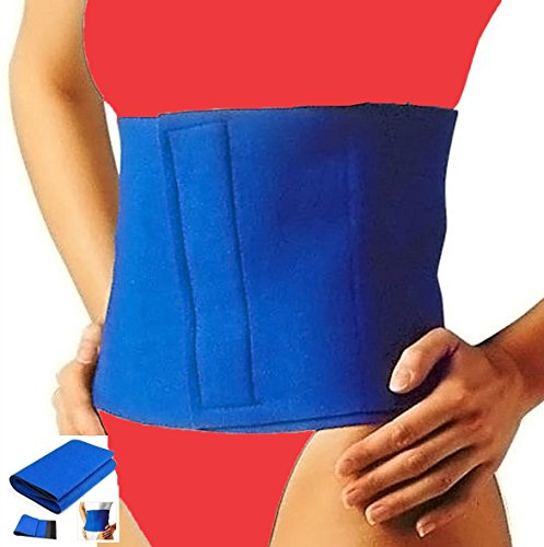 SONTANAS PRODUCT NOT ODSL NEOPRENE SLIMMING BELT- One Size Fits Most - Targets Fat around Waist/Belly / Stomach Sontanas Cellulite Fat Burner
