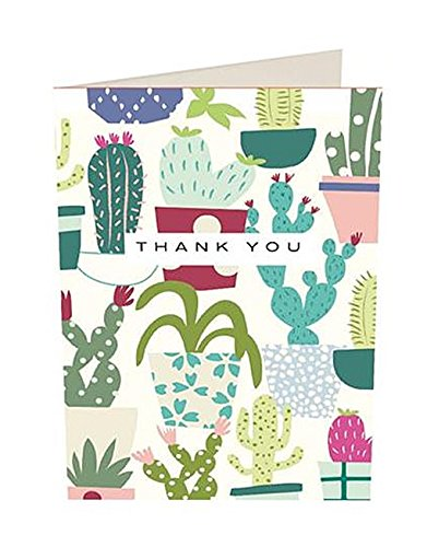 Cactus Dank U Kaarten door Caroline Gardner (PQE189)
