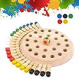 Juegos de mesa para niños de 4 a 5 6 años, juguetes educativos para niños de 5 a 6 7 años, ajedrez para niños, juego de memoria de madera para niños, regalo de cumpleaños para 3-10 juguetes montessori
