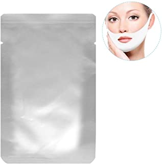V Zone Facial Gel Pad, 10 Pack Face Care V-shape Chin Line Contour Lifting Up Firming Moisturizing Mask
