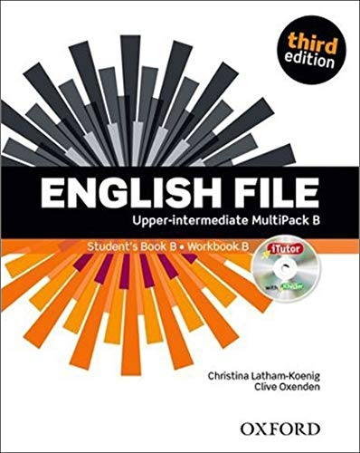 English File third edition: English file. Upper intermediate. Student's book-Workbook-Itutor-Ichecker B. With key. Con e-book. Con espansione online. ... The best way to get your students talking