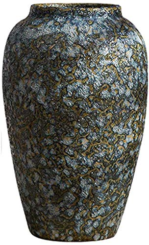 Vaas oude bloemendecoratie ornamenten dayscreative eenvoud keramiek aardewerk retro klantenservice team keramiek woonaccessoires decoratie