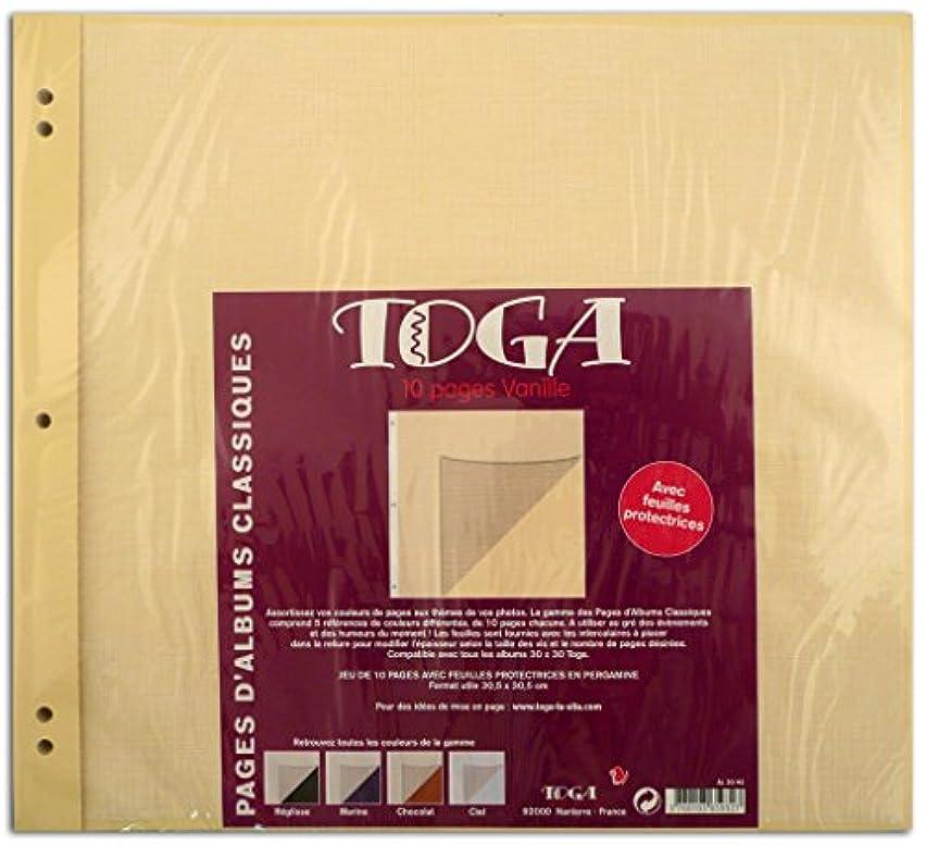 Toga al20h2?Set of 11 Vanilla Paper 12?