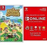 Animal Crossing: New Horizons (Nintendo Switch) + Nintendo Switch Online - 12 Meses (Código de descarga)