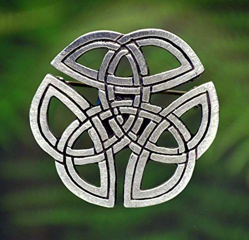 Celtic Knot Pin | Celtic Jewelry in Fine Pewter