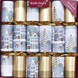 Robin Reed 6 x 12 Sparkle Town Christmas Crackers (Cat F1)