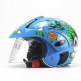 Funihut Casco Bicicleta Niño Equipo De Protección Cuatro Temporadas Personalidad Children's Helmet De Seguridad Infantil Ajustable 47-53 Cm (Edades 2-8)