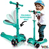 Best Scooter For Kids - Kicsky Wheels Scooters for Kids with Seat Folding Review