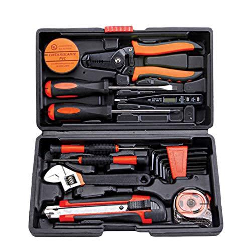 YiLianDaD Werkzeugset Werkzeugsatz Multi Haushalts-Werkzeugkoffer DIY Reparatur Kits Set Inkl....
