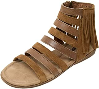 Womens Pisa Gladiator Sandal, Dusty Brown, Size 8