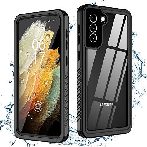 Oterkin for Samsung Galaxy S21 Case Waterproof, Built-in Screen Protector...
