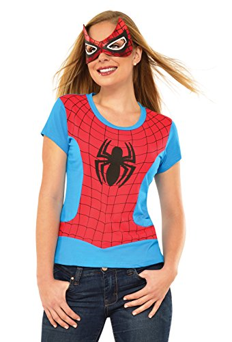Rubie's Marvel Women's Universe Spider-Girl Classic T Shirt, Multi, Small