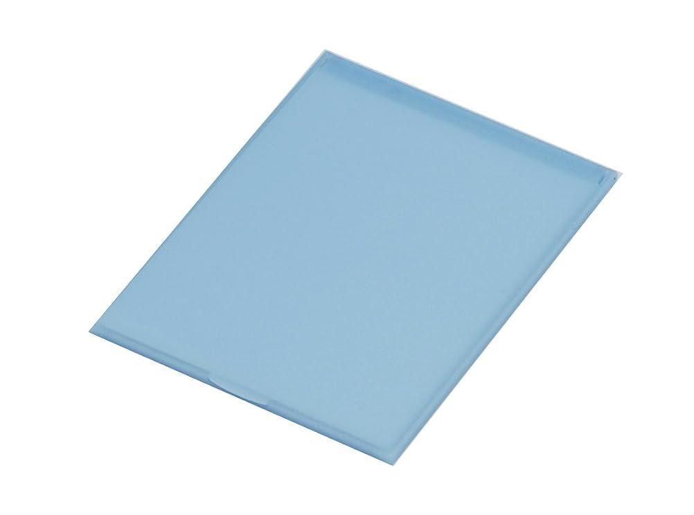 堀内鏡工業 スリム&ライト パステルカラー コンパクトミラー M ブルー
