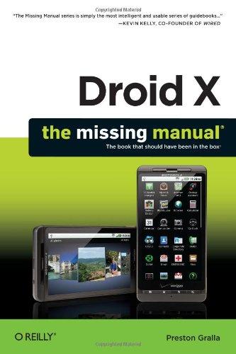 Preisvergleich Produktbild Droid X: The Missing Manual
