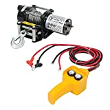 Silverline 748850 Electric Winch, 12V