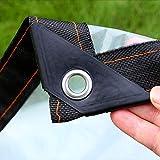 JX-PEP Lona transparente con ojales, toldos y lonas, lona impermeable para...